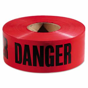 Empire Danger Barricade Tape, 3 in x 1000 ft (EML771004)