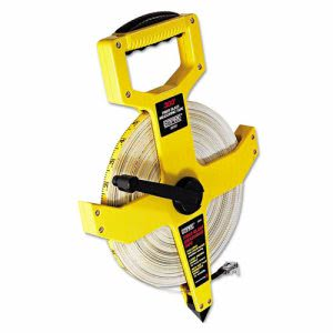 "Empire Open Reel Fiberglass Tape Measuer, 1/2"" x 300ft (EML6830)"