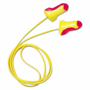 Howard Leight Single-Use Earplugs, Corded, 32NRR, Magenta/Yellow (HOWLL30)