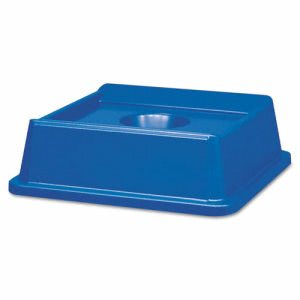 Rubbermaid Untouchable Bottle and Can Recycling Lid, Blue (RCP 2791 BLU)