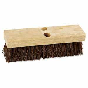 "Boardwalk Deck Brush Head, 10"" Head, Palmyra Bristles (BWK3110)"