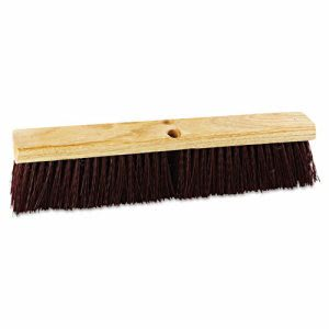 "Boardwalk Polypropylene 18"" Stiff Floor Brush (BWK 20318)"