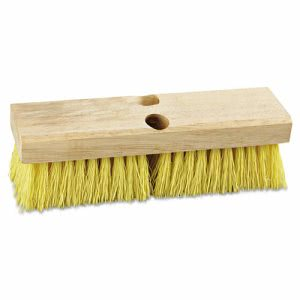 "Boardwalk Deck Brush Head, 10"" Head, Polypropylene Bristles (BWK3310)"