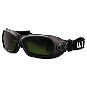 Jackson Safety V80 WildCat Cutting Goggles, Blk Frame, Shade 3.0 Lens (JAK20528)