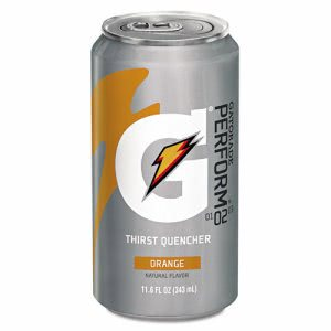 Gatorade Thirst Quencher Can, Orange, 11.6oz Can (GTD00902)