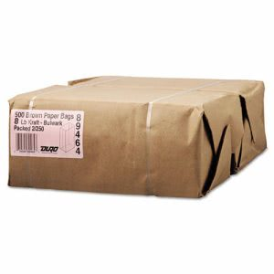 General Paper Bag, 57-Pound Base, Kraft, 6-1/8 x 4.17 x 12-7/16 (BAGGX8500)