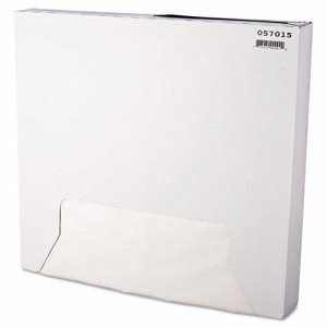 15 x 16 Grease-Resistant White Paper Wrap/Liners, 3,000 Sheets (BGC 057015)