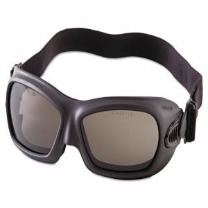 Jackson Safety V80 WildCat Safety Goggles, Black Frame, Smoke Lens (JAK20526)