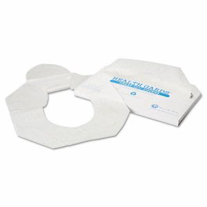 Health Gards Toilet Seat Covers, Half-Fold, 2,500 Covers (HOS HG-2500)
