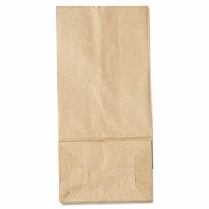 GEN 5# Brown Kraft Paper Bags, Standard Grade, 500 Bags (BAG GK5-500)