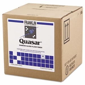 Quasar Diamond Gloss Floor Wax, 5 Gallon Cube (FRK F136025)