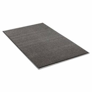 "Crown Olefin Indoor Wiper Mat, 36""x60"", Charcoal (CWNGS0035CH)"