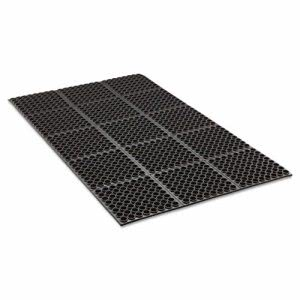 Safewalk Heavy-Duty Anti-Fatigue Drainage Mats, General-Purpose (CRO WSTF35 BLA)