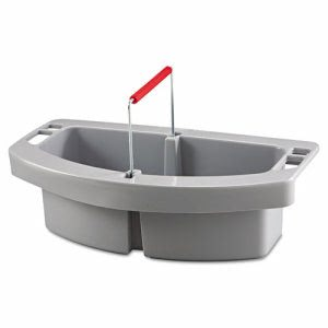 Rubbermaid 2649 Brute Container Maid Caddy, Gray (RCP2649GRA)