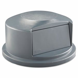 Rubbermaid Brute 44 Gallon Dome Top Lid, Gray (RCP 2647-88 GRA)