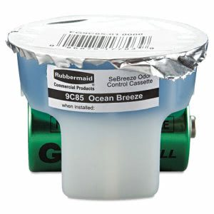 Rubbermaid  SeBreeze Cassette, Ocean Breeze, 1.25oz, 6 per Carton (RCP9C8501)