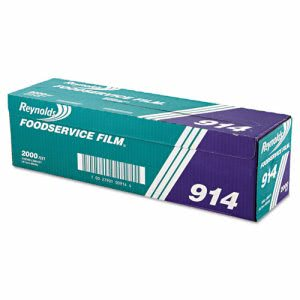 Reynolds® Foodservice Film Roll with Cutter Box, 18in x 2,000 ft. (REY 914)