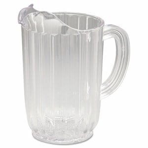 Rubbermaid Commercial Bouncer Plastic Pitcher, 32oz, Clear (RCP3336CLE)