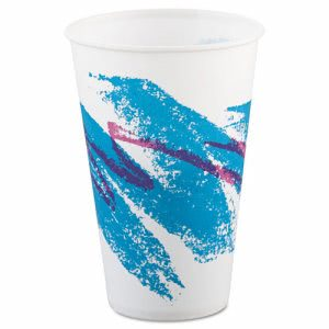 Solo Jazz 12-oz. Wax-Coated Paper Cold Cup, 2,000 Cups (SCC R12NJ)