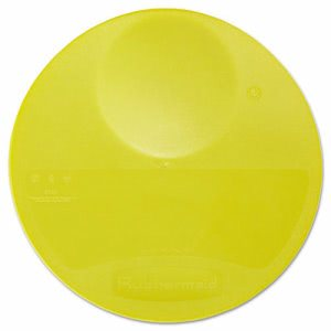 Rubbermaid 5725 Lid for 6 Qt Round Storage Container, Yellow (RCP 5725 YEL)