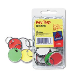 Metal Rim Key Tags (AVY 11-026)