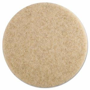 "19"" Natural Hair Extra Pads, Ultra High-Speed Floor Pads (PAD 4019 NHE)"