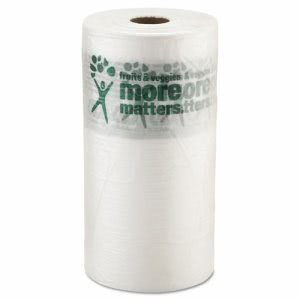 Inteplast Group Produce Bag, 10 x 15, 9 Mic, Natural, 1400/Roll (IBSPHMORE15NS)