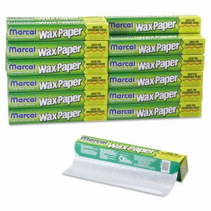 Kitchen Charm® Wax Paper Roll, 11.9in x 75-ft. Roll (MCD 5016)