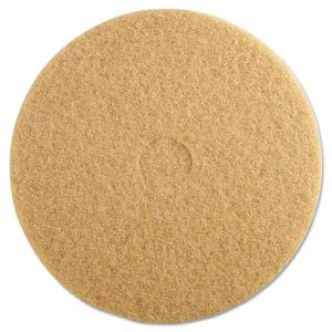"20"" 3M Tan Burnishing Pads, Hi Speed Floor Pads, 3400 (MCO 05606)"