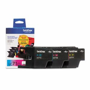 Brother LC713PKS (LC-13PKS)  Ink, 300 Yield, 3 per Pack (BRTLC713PKS)