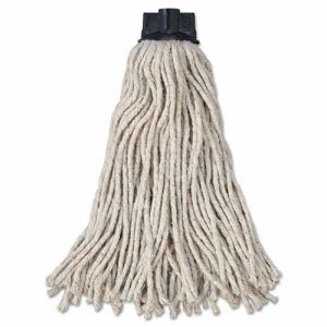 Rubbermaid Replacement Mop Head For Mop, Cotton, White, 12 Mops (RCPG04300)