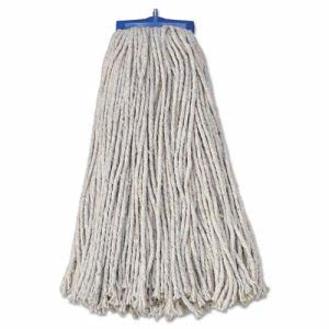 Boardwalk Mop Head, Lie-Flat Head, Cotton, 20-oz, 12 Mop Heads (BWK720C)