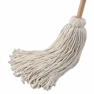 Handle/Deck 32 oz. Cotton Fiber Complete Mops, Handle and Mop Head  (UNS 132C)