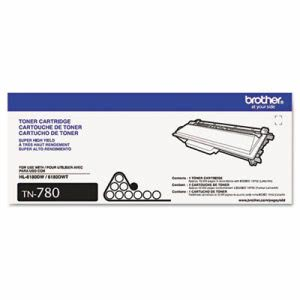 Brother TN780 Super High-Yield Toner, 12000 Page-Yield, Black (BRTTN780)