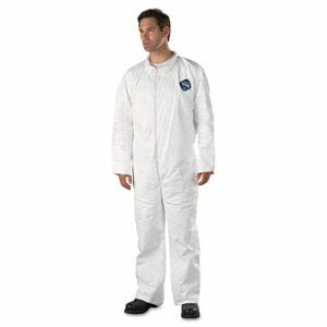 DuPont Coveralls, HD Polyethylene, 3X-Large, 25 Coveralls (DUP TY120S3XL)