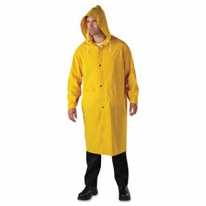 Anchor Brand Raincoat, PVC/Polyester, Yellow, Size 2X-Large, Each (ANR90102XL)