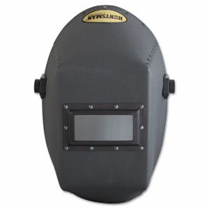 "Jackson Safety Huntsman Fiber Welding Helmet, 4 1/4"" x 2"", Black (HUN14527)"