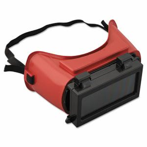 Jackson Safety WS-85 Cutting Goggles, Red Frame, Shade 5.0 Lens (JAK15992)