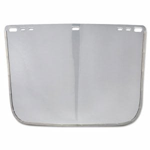 "Jackson Safety F30 Face Shield Window, 12"" x 8"", Clear, Unbound (JAK29078)"