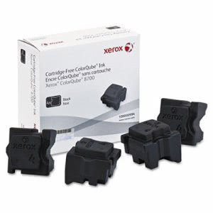 Xerox 108R00994 Ink Sticks, 9000 Page-Yield, Black, 4/Box (XER108R00994)