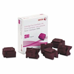 Xerox 108R01015 Ink Sticks, 16900 Page-Yield, Magenta, 6/Box (XER108R01015)