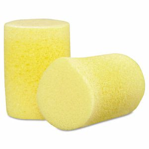 3M E-A-R Classic Uncorded Earplugs Poly Bag, One Size, Foam, Yellow (MCO 12002)