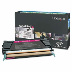 Lexmark X746A1MG Toner, 7000 Page-Yield, Magenta (LEXX746A1MG)
