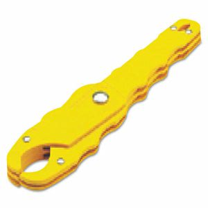 "Ideal Medium Safe-T-Grip Fuse Puller, 7 1/2"" Length, Yellow (IDL34002)"