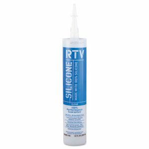 White Lightning Contractor-Grade Silicone Sealant, 10oz, Clear (WHTWL099110C)