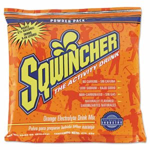 Sqwincher Powder Concentrate Electrolyte Drink Package, Orange, 23.83 Oz Packet, 32 Packets (SQW 016041OR)