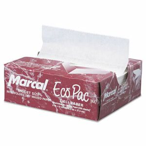 Eco-Pac Natural Interfolded Dry Wax Paper, 6 x 10, 1 Each (MCD 5290)