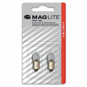 Maglite Replacement Lamp for AA Mini Flashlight (MGLLM2A001)