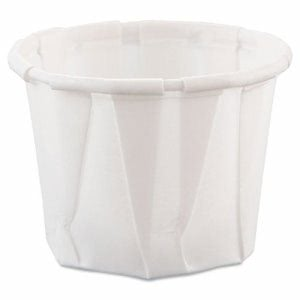.75-oz. Paper Pleated Souffle Cups, 5,000 Cups (SCC 075)