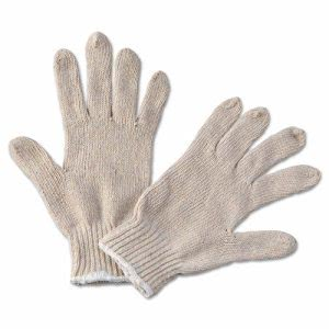 Boardwalk Men's String Knit Gloves, Large, 12 Pair (BWK 782)